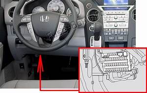 Fuse Box Diagram Honda Pilot  2009