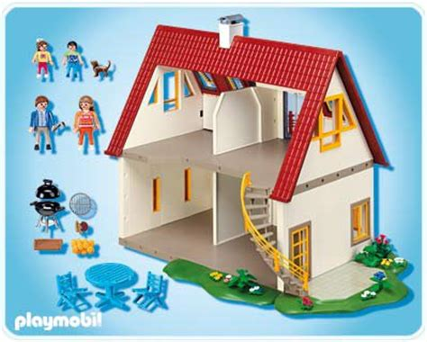 notice playmobil villa