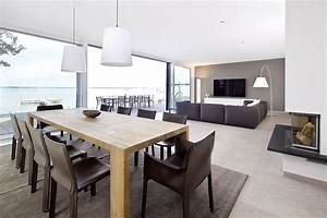 Wohn Esszimmer Küche : k che ess und wohnbereich sind offen gestaltet und l ~ Watch28wear.com Haus und Dekorationen