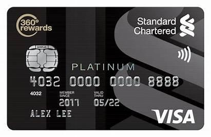 Standard Chartered Card Credit Visa Malaysia Platinum