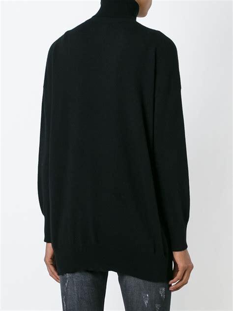 gucci cashmere sweater black lyst