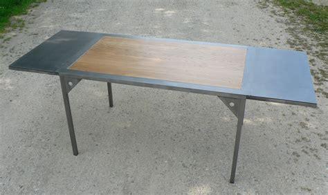 table repas loft bois 224 allonges m 233 tal a partir de 1678 00