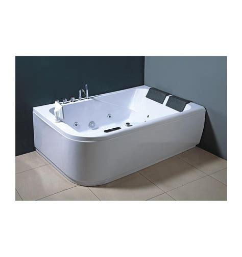 baignoire balneo angle baignoire balneo ios angle droit 170 120 cm baignoire
