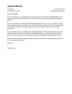 Journeyman Drywall by Best Journeymen Drywallers Cover Letter Exles Livecareer