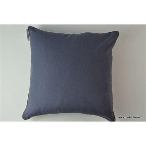 housse pour coussin 40x40 polyester coloris bleu