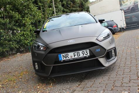 Matt Ford by Ford Focus Rs 2016 In Charcoal Matt Metallik Folienking De