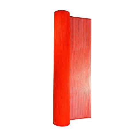 home depot orange tenax 4 ft x 100 ft orange guardian safety barrier fence 998044 the home depot