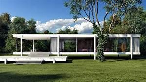 Villa Mies Van Der Rohe : farnsworth house 1951 by mies van der rohe ~ Markanthonyermac.com Haus und Dekorationen