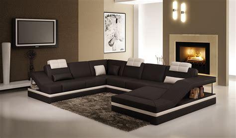 canapé noir et blanc design deco in canape d angle design noir et blanc atilde