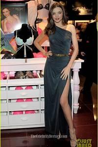 Celebrity Dresses Miranda Kerr One Shoulder Dress