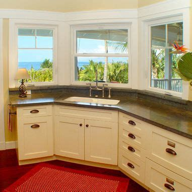 kitchen cabinets picture 16 best corner sink with windows images on 3168