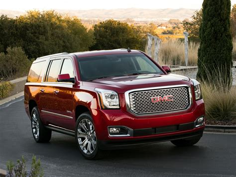 2014 Gmc Yukon X-l Denali Suv Stationwagon G Wallpaper