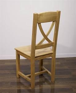 Chaise Chene Massif : chaise olivier en ch ne massif de style campagne assise ch ne meuble en ch ne massif ~ Teatrodelosmanantiales.com Idées de Décoration