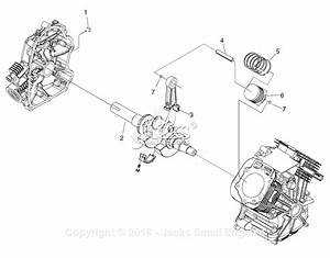 Generac 005009-0  Gtv990  Parts Diagram For Long Block