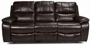 Kimberlee power reclining sofa dark brown levin furniture for Levin furniture sectional sofa