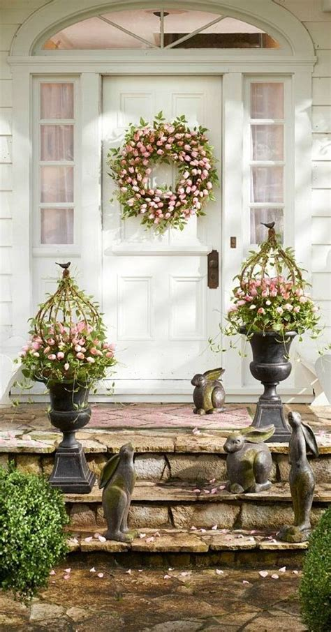 Decorating Ideas For Easter by Easter Decorating Ideas For Your Outdoor Space