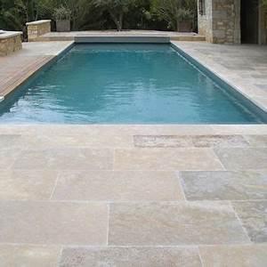 carrelage pour plage de piscine de sol en pierre With carrelage pour terrasse piscine