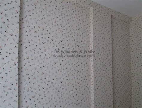 floral pattern wallpaper installed  filinvest alabang