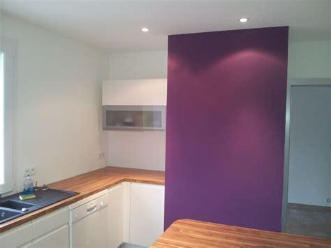 exemple peinture cuisine peinture décoration francis bénard