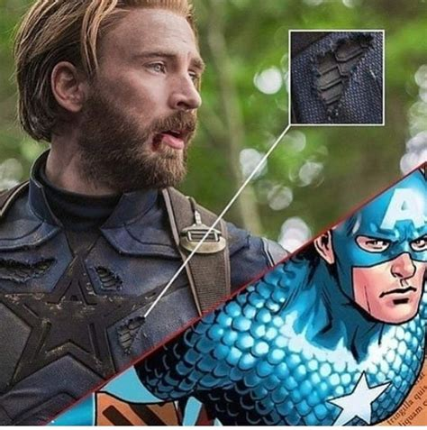 Cap's Avengers: Infinity War Costume Has A Comic Book Homage
