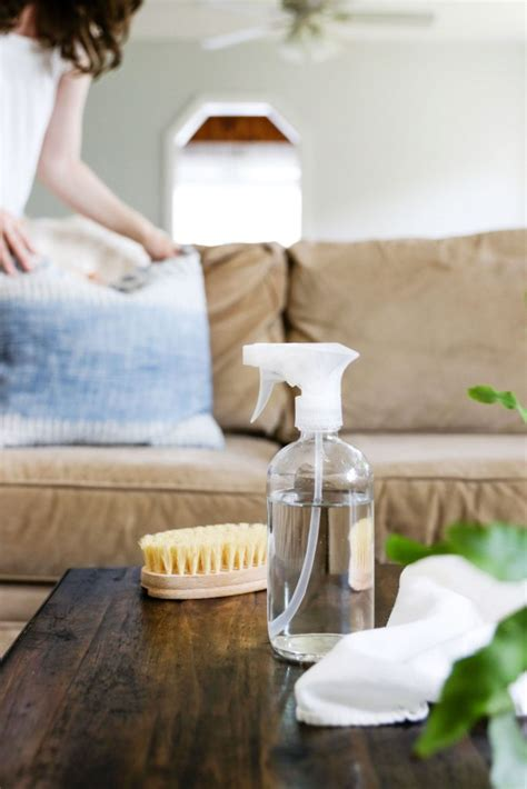 How Do I Clean My Microfiber Sofa by How To Clean A Microfiber Hello Nest