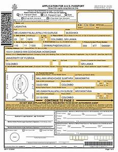 How to fill passport application form in sri lanka howstoco for Application for us passport 2017