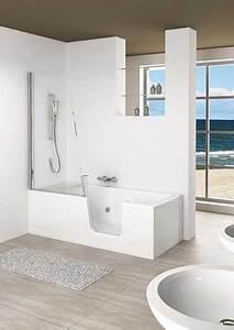 Duo Kinedo Baignoire Douche : baignoires baln o avec porte d 39 acc s ~ Premium-room.com Idées de Décoration