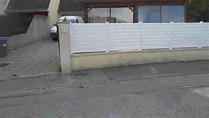 Cloture Pvc Sur Muret : cr ation cloture pvc youtube ~ Melissatoandfro.com Idées de Décoration