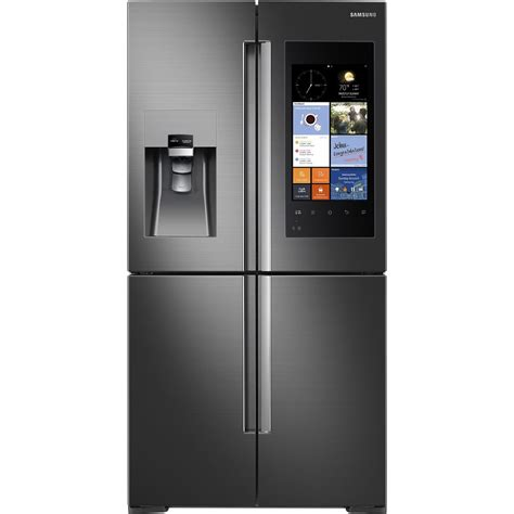 rfksg samsung appliances   cu ft counter depth  door flex refrigerator