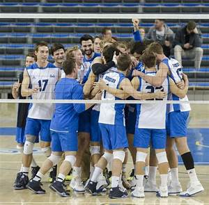 No. 1 men's volleyball completes comeback win in five-set ...