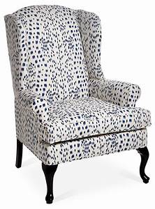 The, Classic, Wingback, Chair, Gets, A, Modern, Update, With, Contemporary, White