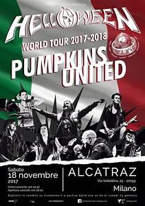 Helloween: a novembre in Italia con il Pumpkins United con ...