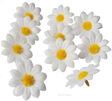 craft daisy flower heads seasonal craft supplies easter