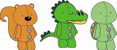 Stuffed Vector Animals Plush Toy Clip Cartoon