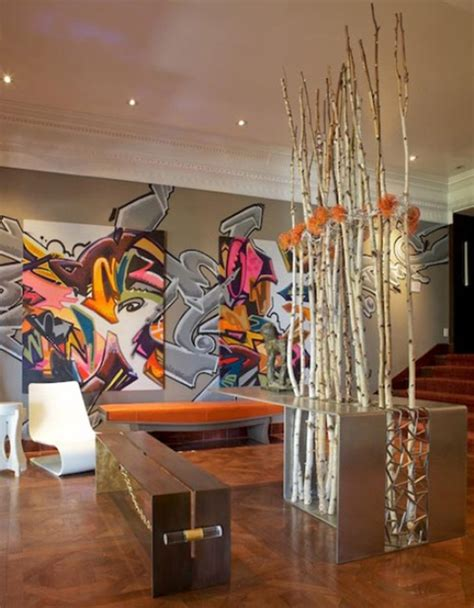 Living Room Design Paint Colors by Add A Modern Touch With Graffiti As Wall Art 171 Saybrook