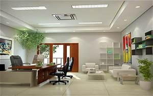 Office, White, Interior, Design, Hd, Wallpaper