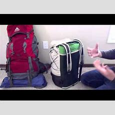 Home Made Ultra Light Back Pack Review Diy  Youtube