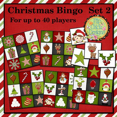 christmas bingo games for large groups myideasbedroom com