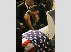 Brittany Martin in Savannah Mourners Remember Soldier