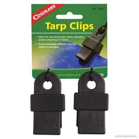 tarp clips repair coghlans