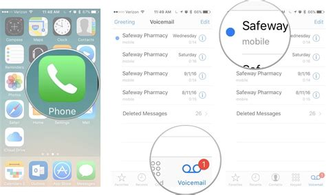 iphone forward voicemail how to set up and use voicemail on iphone imore