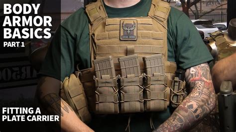 Plate Carrier & Body Armor Basics (part 1)