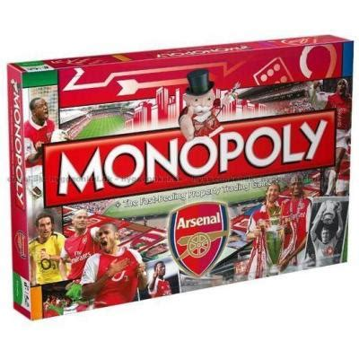 Arsenal Edition 01 monopoly arsenal fc edition kj 248 p det