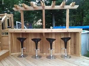 Bar Exterieur Design : id es d 39 am nagement de bar de jardin habitatpresto ~ Melissatoandfro.com Idées de Décoration