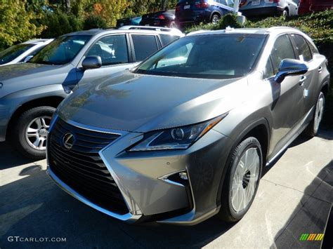 lexus atomic silver 2017 atomic silver lexus rx 350 awd 116267547 photo 2