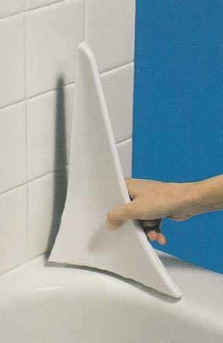 tub corner splash guard bathtub splash guards