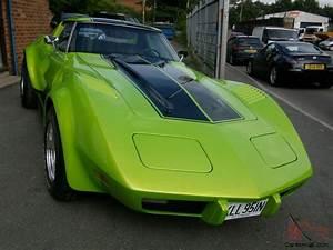 Corvette C3 Stingray : 1975 chevrolet l82 corvette stingray c3 5 7ltr chevy v8 hotrod in pearl green ~ Medecine-chirurgie-esthetiques.com Avis de Voitures