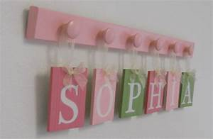 wooden letters nursery includes childrens name hanging ribbons With wooden letters for nursery