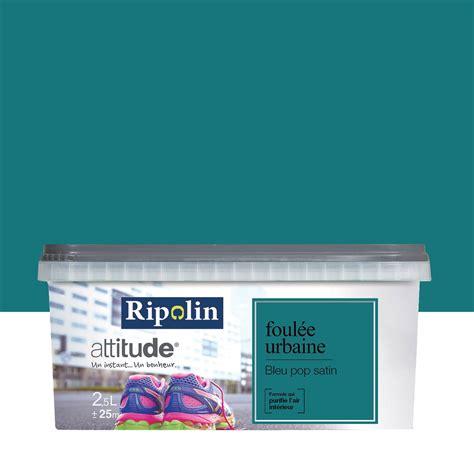 chambre couleur vert d eau peinture bleu pop ripolin attitude foulée urbaine 2 5 l
