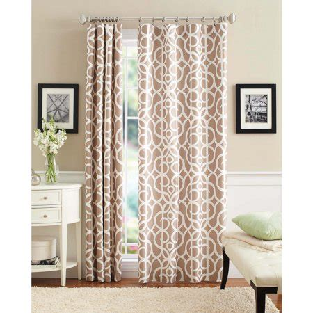Walmart Drapes And Curtains - better homes and gardens marissa curtain panel walmart